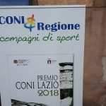 A Daniele Pozzi il premio speciale C.O.N.I. Lazio