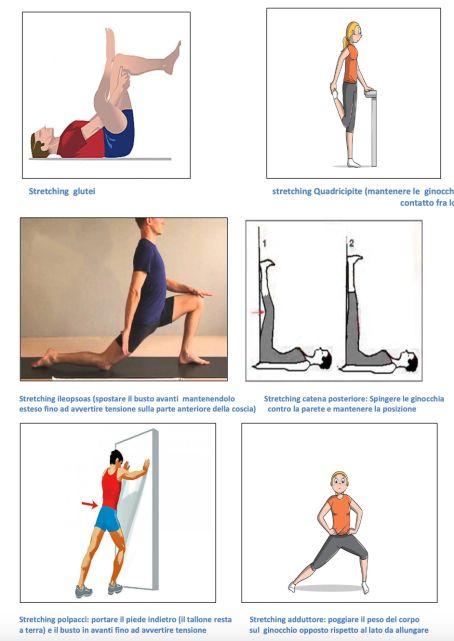 esercizio strretching