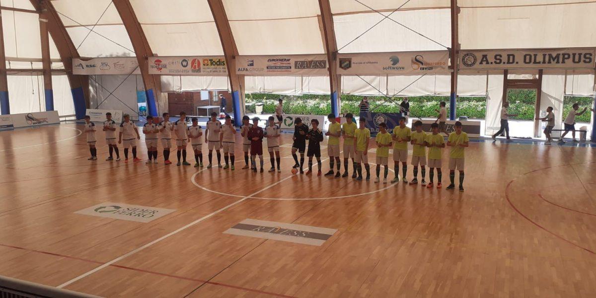 Finale U15 al Palaolgiata a Daniele Della Portella