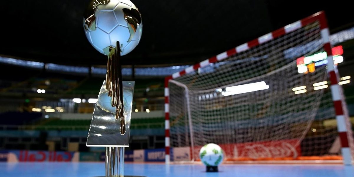 futsal world cup trophy